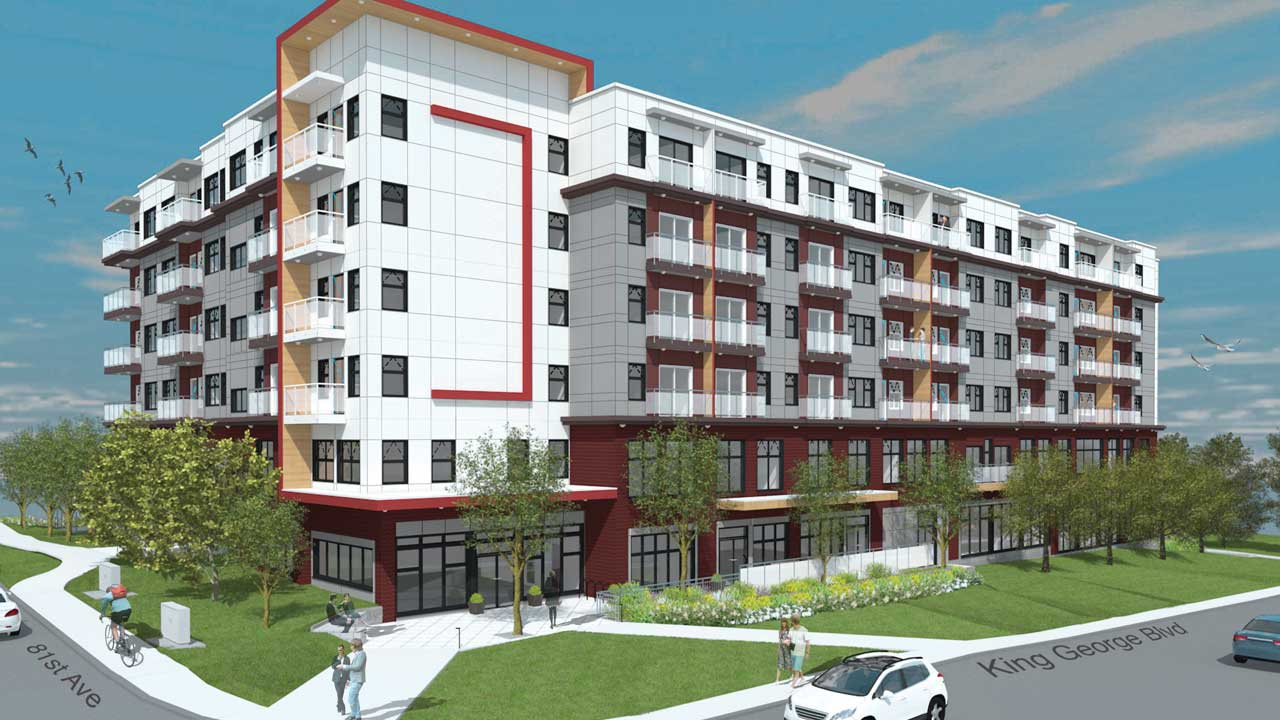 OCS Affordable Housing Building Rendering 1