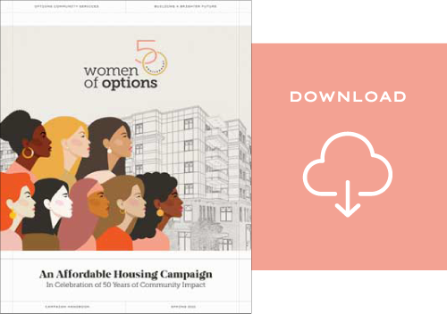 50 Women of Options | Campaign Handbook Download